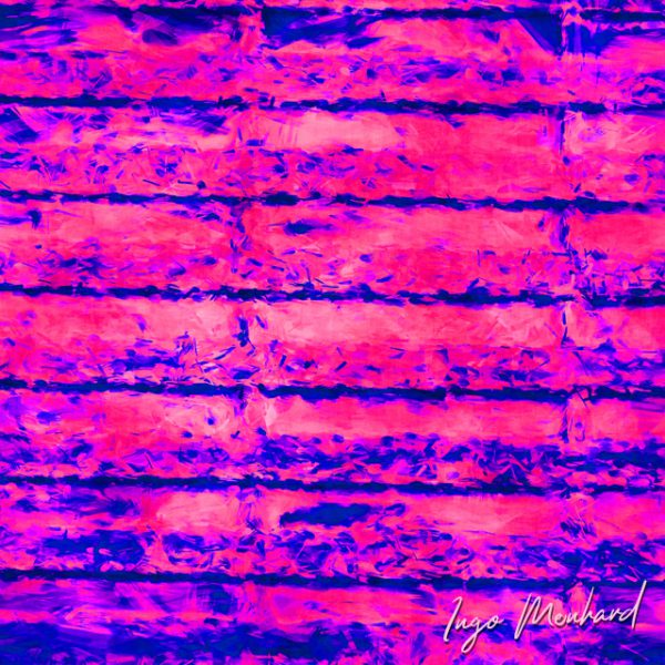 Neon Pinkwand Kunstwerk